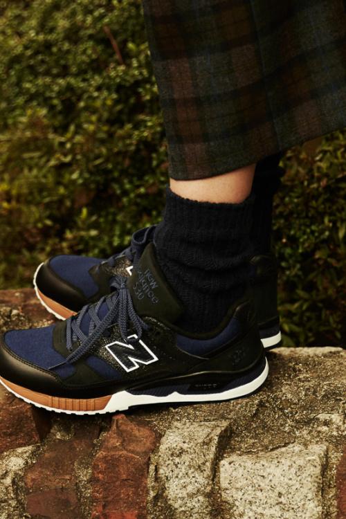 Scye и UNITED ARROWS объединяются для создания новой пары кроссовок New Balance 530