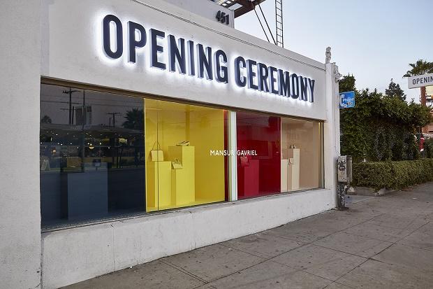 Mansur Gavriel открыли бутик shop-in-shop в Лос-Анджелесском Opening Ceremony