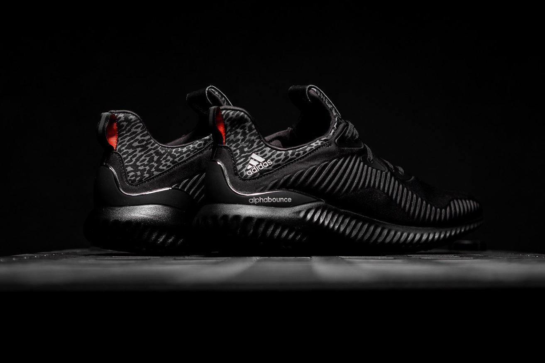 Подробное рассмотрение adidas AlphaBOUNCE «Core Black»