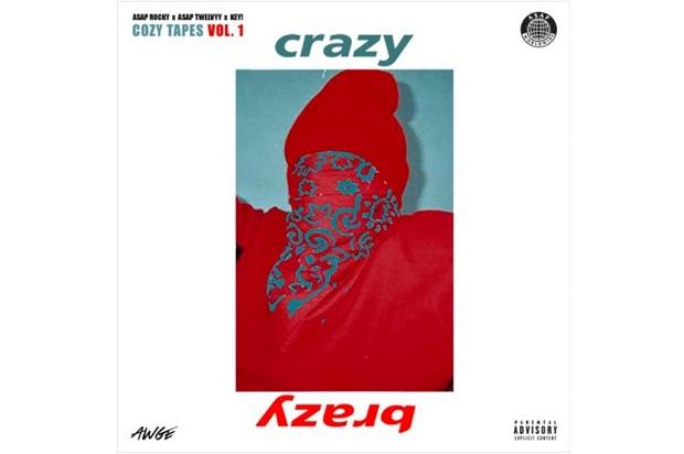 Вышла новая песня A$AP Rocky — «Crazy Brazy»