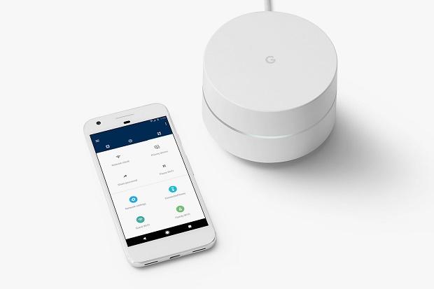 Google представила роутер Google WiFi