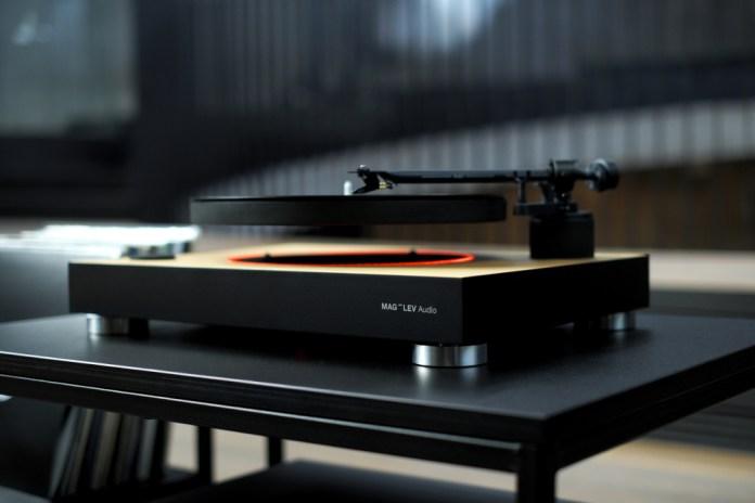 MAG-LEV Audio - первый в мире парящий проигрыватель