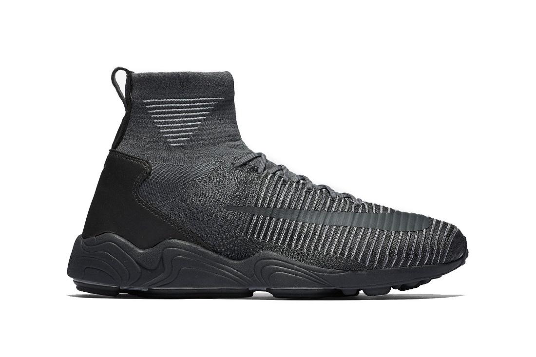 Спортивные оттенки серого вместе с Nike Zoom Mercurial Flyknit