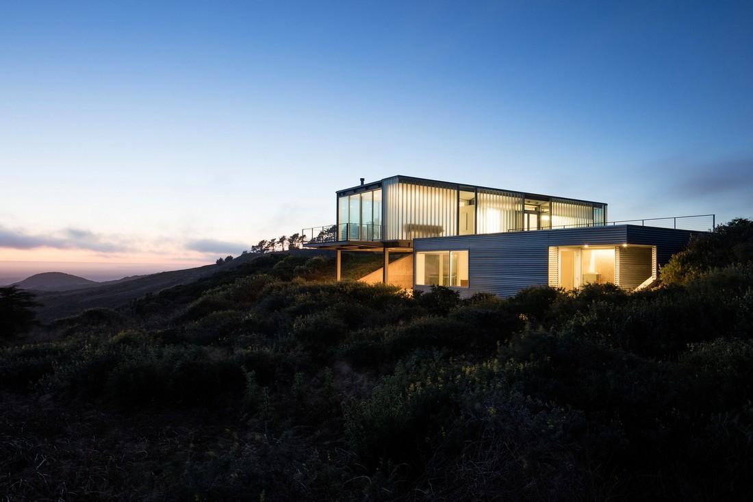 Стеклянный дом в Калифорнии