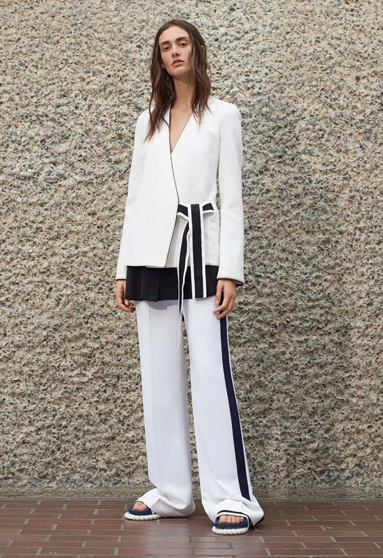 Лукбук коллекции Victoria Victoria Beckham весна/лето 2017