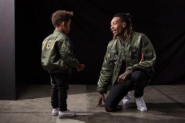 Уиз Халифа и его сын выпустили линию одежды