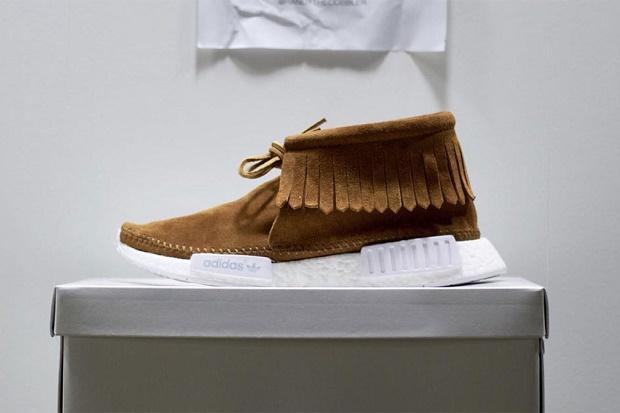 Кроссовки adidas Originals NMD стали мокасинами