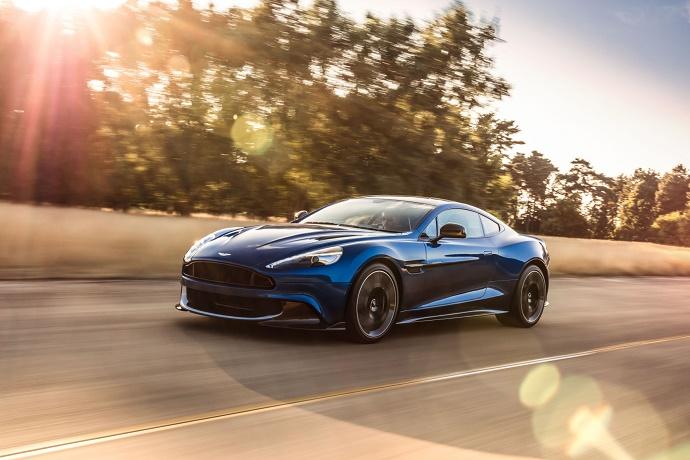 Купе Aston Martin Vanquish S получило форсированный мотор