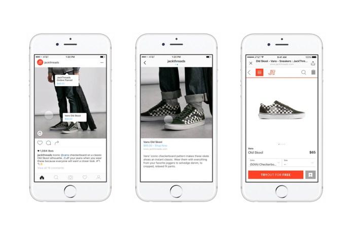 Instagram тестирует функцию покупки товаров внутри сервиса