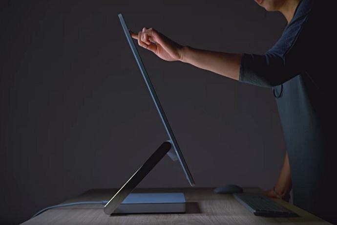 Microsoft представила моноблочный компьютер Surface Studio