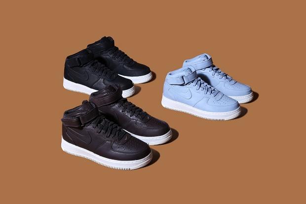 NikeLab презентовали три новых варианта Air Force 1