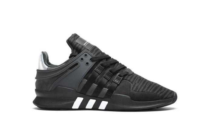 Кроссовки adidas EQT Support ADV в новом, чёрном облике