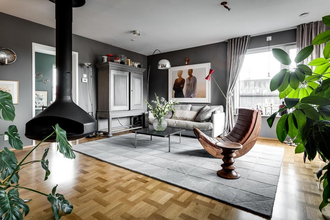 Двухэтажный пентхаус в Стокгольме