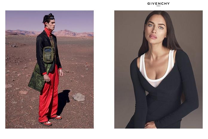 Марсианские дюны в рекламной кампании Givenchy