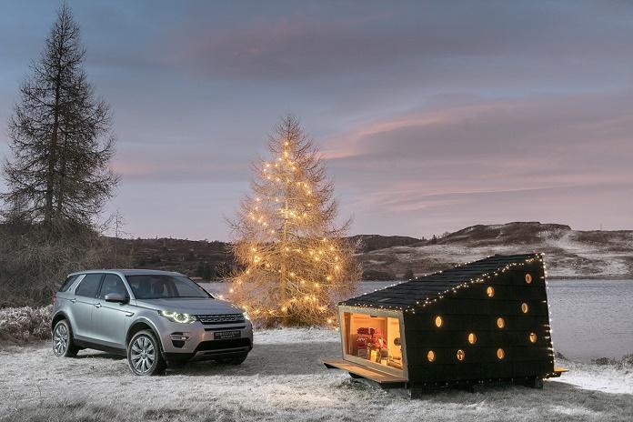 Land Rover построил дом для Санта-Клауса