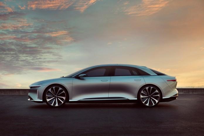 Lucid Motors разработала роскошный электроседан Air