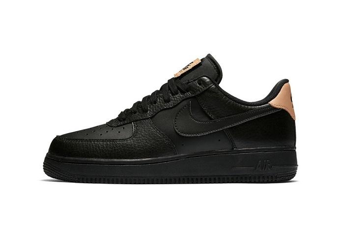 Кроссовки Air Force 1 от Nike получили элитную кожаную отделку