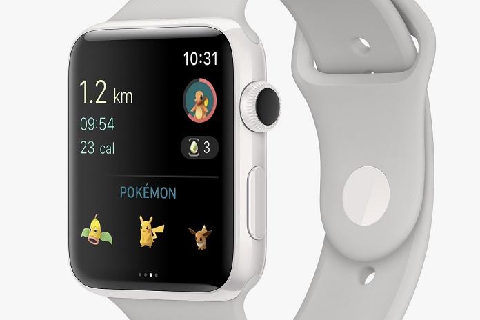Покемоны попали в Apple Watch