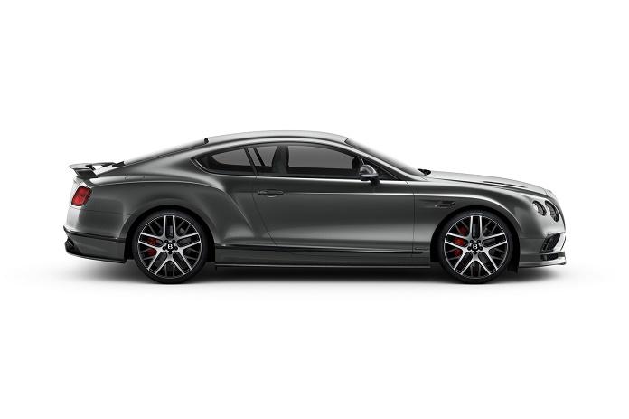 Bentley Continental Supersports: самый мощный и быстрый в истории
