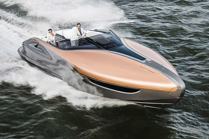Lexus представил скоростную яхту