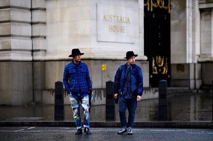 Уличный стиль: Неделя мужской моды в Лондоне осень/зима 2017. Часть III