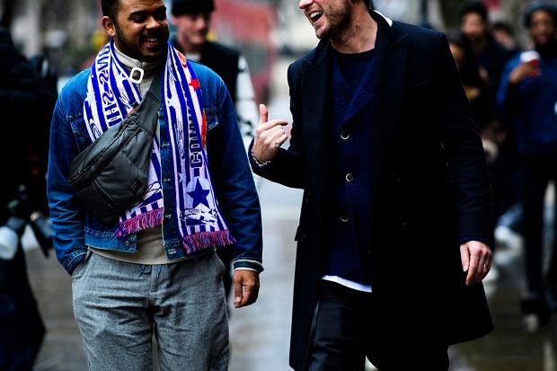 Уличный стиль: Неделя мужской моды в Лондоне осень/зима 2017. Часть II
