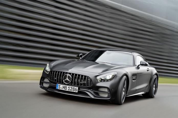 Mercedes-AMG GT C купе Edition 50 без камуфляжа