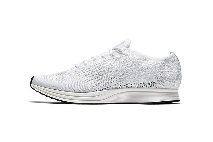 Nike выпустят белоснежные Flyknit Racer