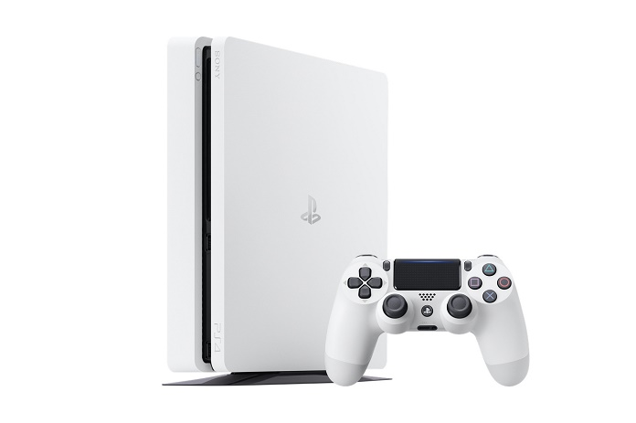 Консоль PlayStation 4 Slim предстала в цвете Glacier White