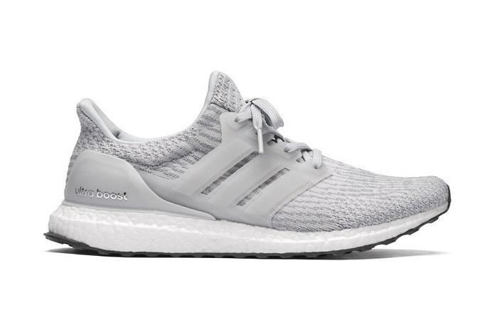 Кроссовки adidas UltraBOOST 3.0 становятся серыми