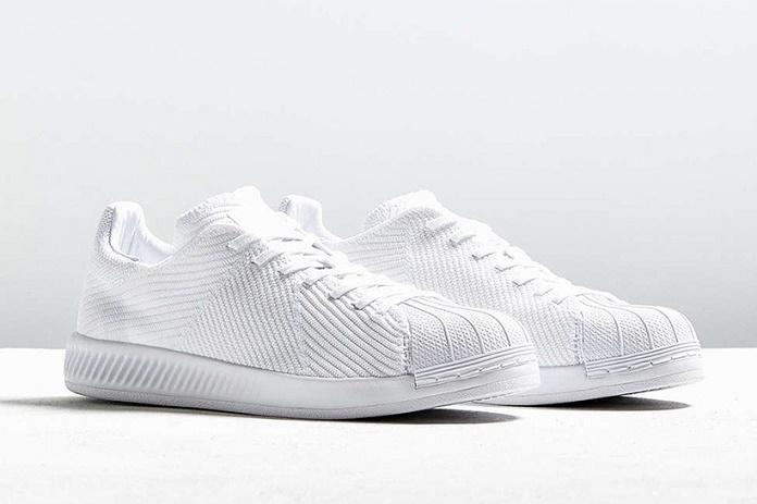 """Кроссовки adidas Originals Superstar BOUNCE в цвете """"Triple White"""" Primeknit"""