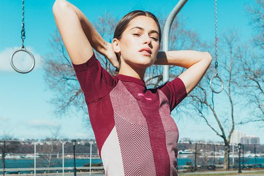 Эдиториал adidas by Stella McCartney весна/лето 2017 от KITH Women