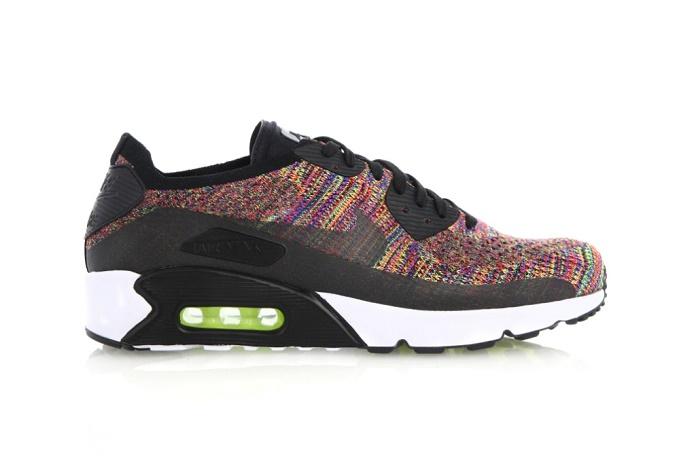 Nike запускает еще более веселенькие Air Max 90 Flyknit