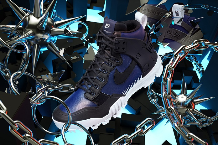 NikeLab и UNDERCOVER представляют модель SFB Jungle Dunk