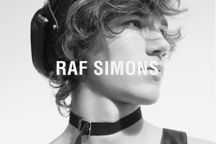 Раф Симмонс открывает кампанию весна/лето 2017