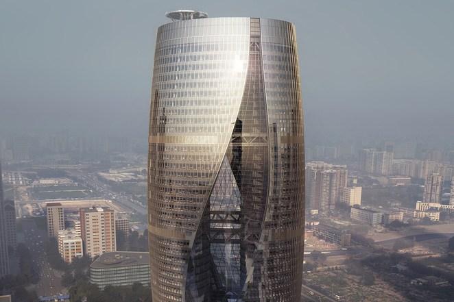 Самый высокий в мире атриум! Leeza SOHO идет на рекорд