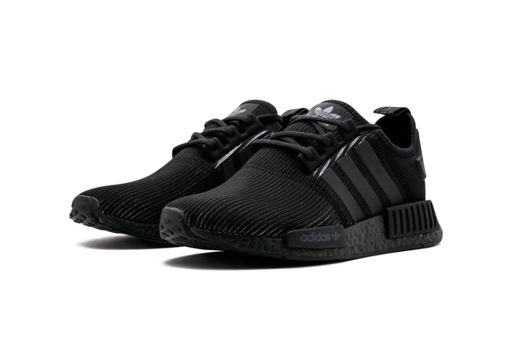 adidas запускает модель NMD_R1 в цвете «Triple Black»