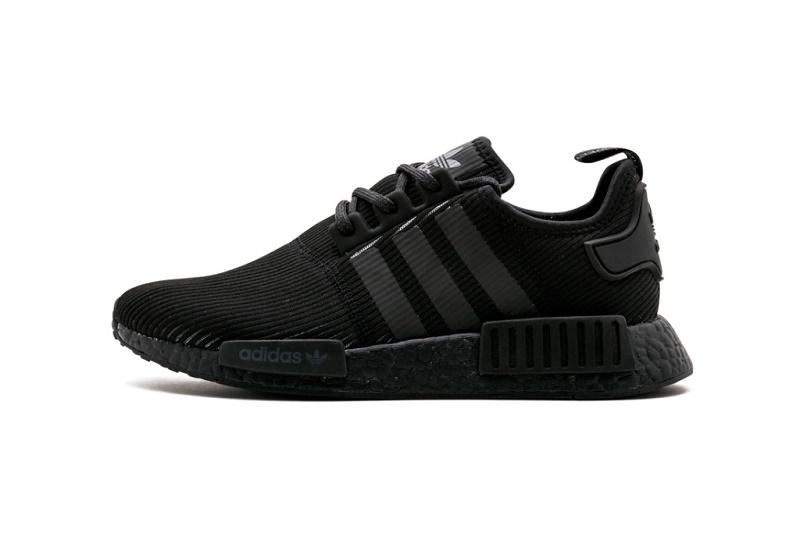"""adidas запускает модель NMD_R1 в цвете """"Triple Black"""""""