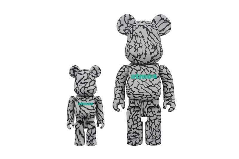 "аtmos посвящают своим ""Elephant"" Nike Air Max 1 фигурку медведя Bearbrick"