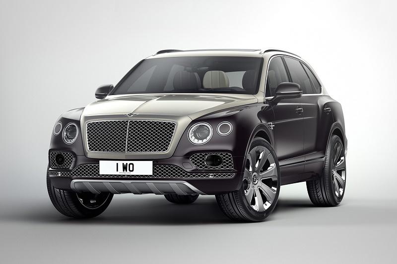 Модельный ряд Bentley Bentayga расширила дорогая версия Mulliner