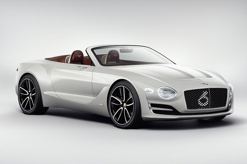 Bentley показала свой первый электромобиль