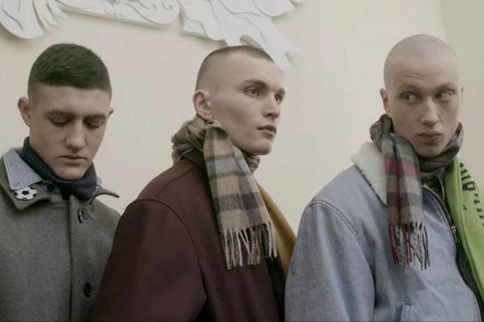 """Документльная короткометражка """"Apart"""" от Гоши Рубчинского"""