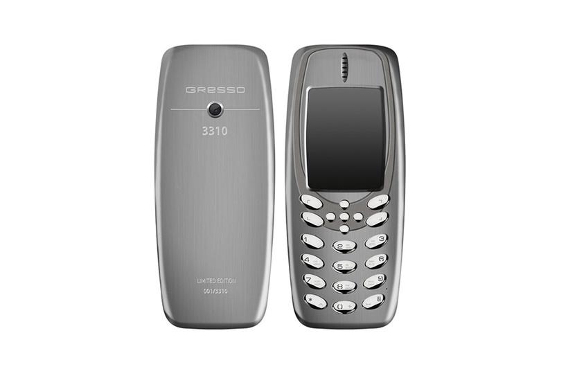 Компания Gresso представила люксовую версию телефона Nokia 3310
