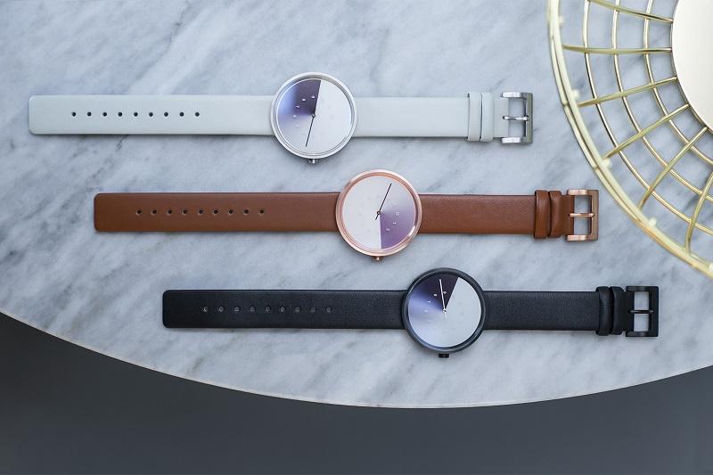 """Дизайнер Jiwoong Jung вместе с Anicorn создали часы """"Hidden Time"""""""