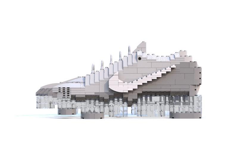 Nike Air VaporMax преображается в LEGO благодаря Тому Ю