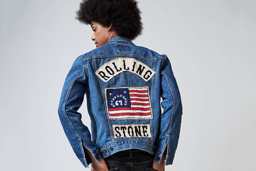 Levi's праздную 50-ю годовщину Rolling Stone вместе со своей новой коллекцией