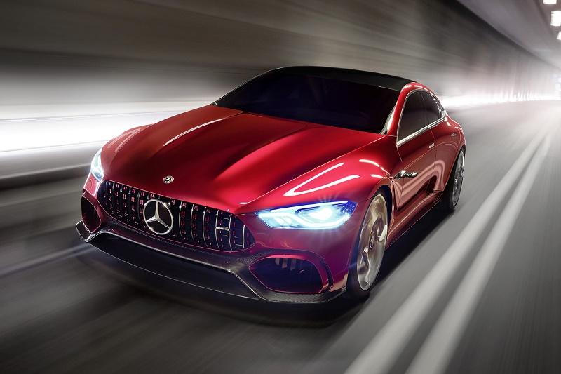 Mercedes-AMG GT Concept станет серийным в 2019 году