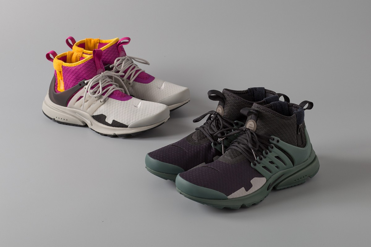 Новый совместный релиз кроссовок ACRONYM x Nike Air Presto Mid SP