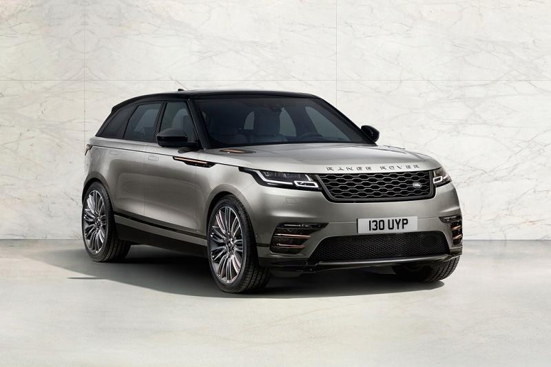 Новую модель Range Rover представили публике
