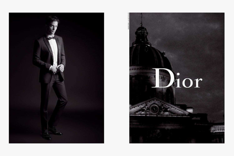Роберт Паттинсон показал новую коллекцию одежды Dior